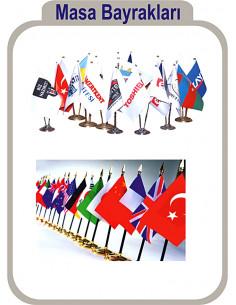 Promosyon Masa Bayrağı