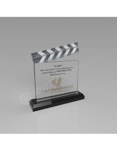 Promosyon KZY-116 Ödül Kristal Plaket