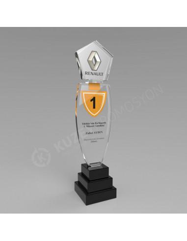 Promosyon KZY-127A Ödül Kristal Plaket