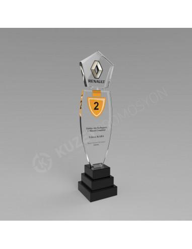 Promosyon KZY-127B Ödül Kristal Plaket