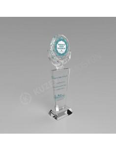 Promosyon KZY-134B Ödül Kristal Plaket