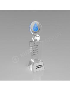 Promosyon KZY-136 Ödül Kristal Plaket