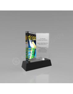 Promosyon KZY-160 Ödül Kristal Plaket