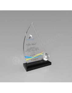 Promosyon KZY-202 Ödül Kristal Plaket