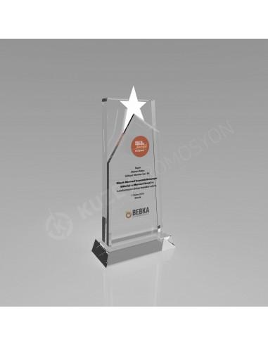 Promosyon KZY-217 Ödül Kristal Plaket