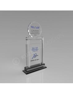 Promosyon KZY-221 Ödül Kristal Plaket