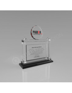 Promosyon KZY-223 Ödül Kristal Plaket