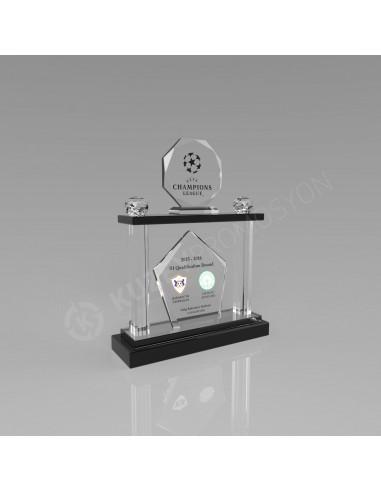 Promosyon KZY-224 Ödül Kristal Plaket