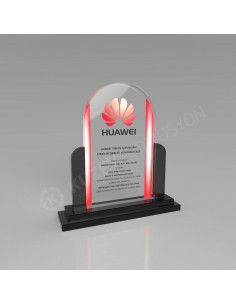 Promosyon KZY-228 Ödül Kristal Plaket