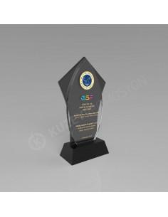 Promosyon KZY232 Ödül Kristal Plaket