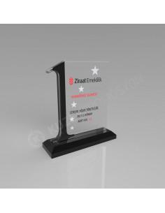 Promosyon KZY-501 Ödül Kristal Plaket