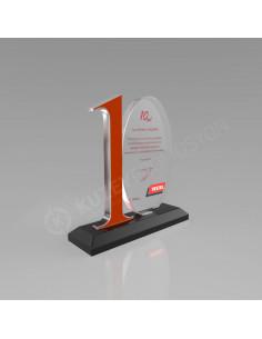 Promosyon KZY-504 Ödül Kristal Plaket