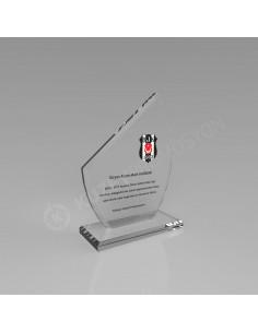Promosyon KZY-106 Kristal Plaket