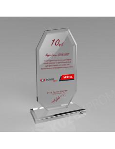 KZY-302 Kristal Plaket