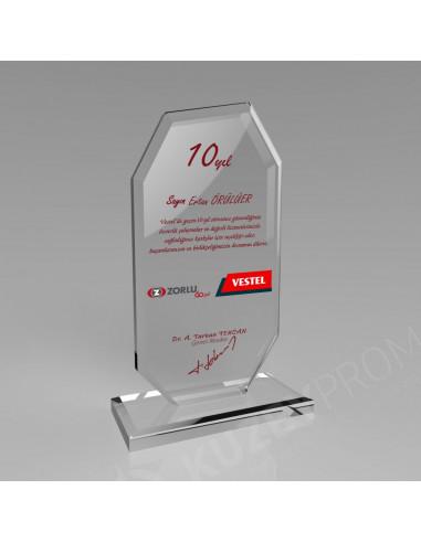 Promosyon KZY-302 Kristal Plaket