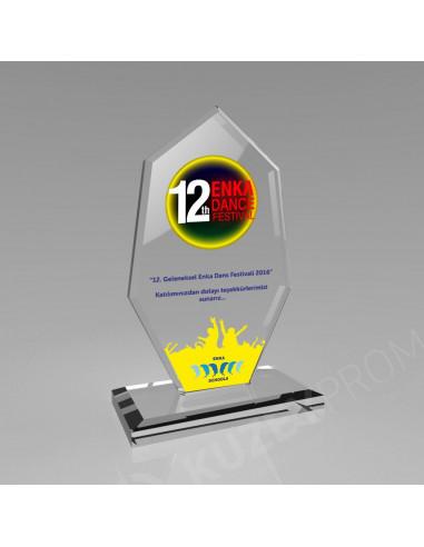 Promosyon KZY-306 Kristal Plaket