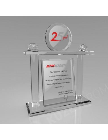 Promosyon KZY-309 Kristal Plaket