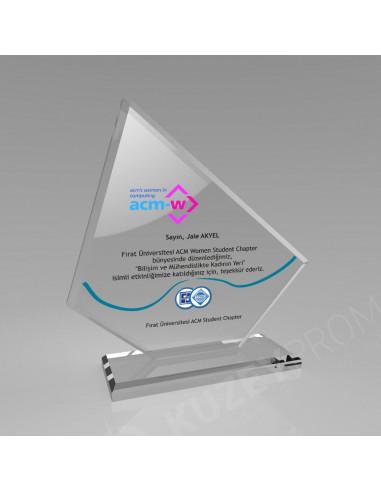 Promosyon KZY-316 Kristal Plaket