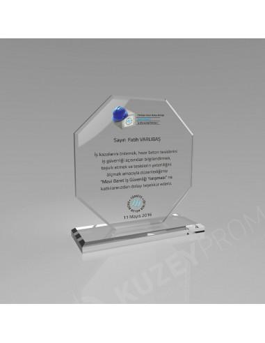 Promosyon KZY-342C Kristal Plaket