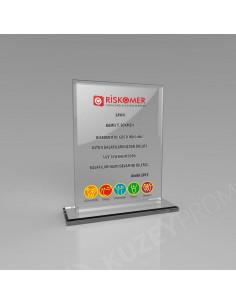 Promosyon KZY-348C Kristal Plaket