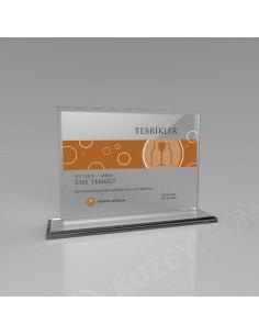 Promosyon KZY-349C Kristal Plaket